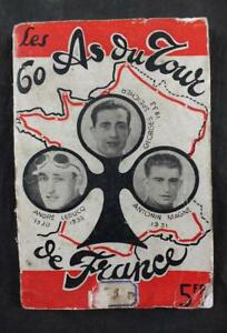 C1930'S TOUR DE FRANCE GUIDE 1934 ORIGINAL WRAP LIBRAIRIE DE L'AUTO ILLS