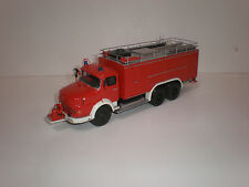 1/43 Fire Engine Mercedes Benz La 2624-S SLF 600 Metz (1968) Handmade