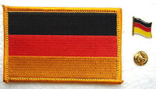 Germany National Flag Pin and Patch Embroidery