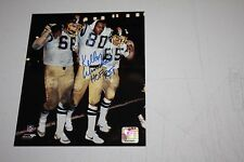 SAN DIEGO CHARGERS KELLEN WINSLOW SR SIGNED 8x10 PHOTO HOF 1995 TIGHT END