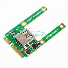 Mini PCI-E Card Slot Expansion to USB 2.0 Interface Adapter Riser Card TOP