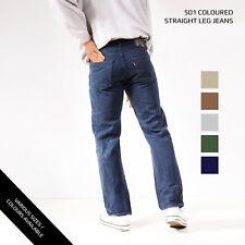 Vintage Color Levis 501 Jeans Denim grado a W28 W30 W32 W34 W36 W38
