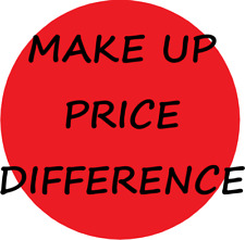 Make up price different to meet minimum spend discount 5¢ increment From $1