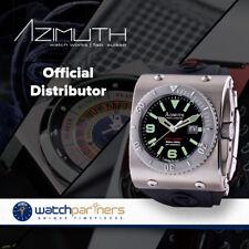 AZIMUTH XTREME-1 DEEP DIVER WATCH 2000m WR BIG DATE 46mm SWISS ETA 2826-2 AUTO