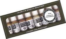 Vallejo Face/Skin Colors Paint Set 8-Colors 17ml
