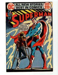 SUPERMAN #254 (VG) 1972
