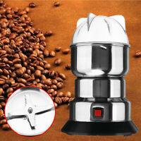 Electric Grain Grinder Coffee Bean Nuts Spice Mill Grinding Kitchen Machine 220V