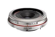 Pentax HD DA 40 mm / 2,8 Limited silber