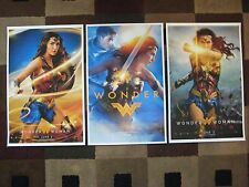 """Wonder Woman 2017 ( 11"""" x 17"""" )  Movie Collector's Poster Prints (SET OF 3)"""