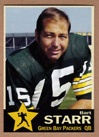 Bart Starr '72 Green Bay Packers Monarch Corona Gold Star series #3