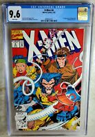 X-Men #4 1st Omega Red Marvel 1992 CGC 9.6 NM+ White Pages Comic M0040