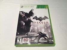 Batman Arkham City (Microsoft Xbox 360) Complete LN Perfect Mint!
