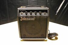 Johnson Standard 10 electric guitar portable amp Tested & Working