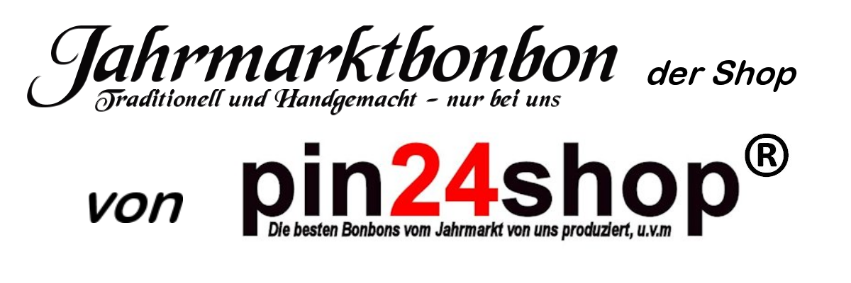 Jahrmarkt Bonbon Shop - pin24shop