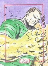 2014 Marvel 75th Anniversary Color SketchaFEX Sandman Jake Sumbing sketch card!