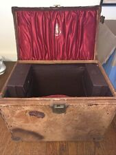Rare Imperial Beltaire Lurch hat box 1898 Broadway New York