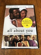 All About You Dvd 2004 Renee Goldsberry Terron Brooks New Sealed