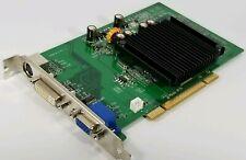 EVGA nVidia GeForce 6200 256-P1-N400-LR 256MB DDR2 PCI VGA DVI S Video Card GPU