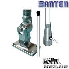 Antenne VHF PRO 3dB, 1.5m, 6m de câble avec rotule inox BANTEN VP150RI/247