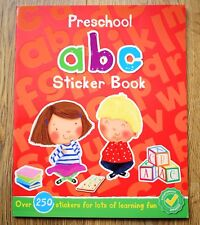 Nursery Pre School Early Learning Activity Book ABC Alphabet Children 2 3 4