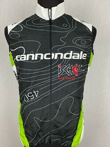 Cannondale Full Zip Cycling Vest Men's Size S Iron Bike 2013 Challenge Road Bike