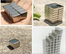 20× NEW Super rare earth magnet N52 Rectangular  neodymium block D15mm detector
