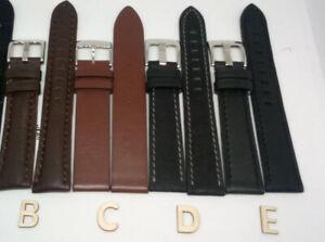 Bracelet montre cuir 18 mm Spain Made (FERRER)