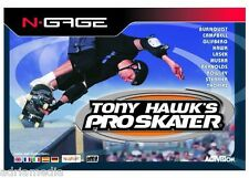 Tony Hawk 's Pro Skater (Nokia N-Gage) nuevo New sealed nuevo embalaje original Game Software juego