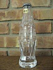 IRISH CRYSTAL COCA-COLA Coke bottle, 200 ML