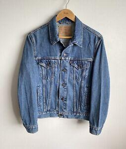 Levis Denim Jeans Blue Vintage Jacket 70503 04 Men's M Casual Cotton Bottoms