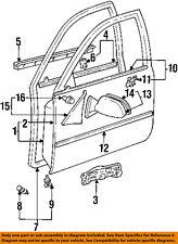 TOYOTA OEM 93-97 Corolla FRONT DOOR-Body Side Molding Left 7573202060