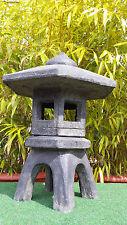 Lampe Lavastein Haus Dach Stein Beleuchtung Wohnung Garten Licht Laterne Asia