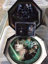 More details for 2005 cards inc star wars limited numbered plate luke skywalker issue
