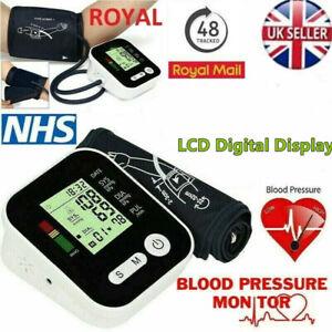 Automatic Blood Pressure Monitor Large Cuff Upper Arm Digital Voice BP Machine
