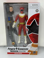 HASBRO Power Rangers Lightning Collection Zeo Red Ranger Figure Wave 6