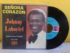 """JOHNNY LABORIEL SEÑORA CORAZÓN MEXICAN 7"""" SINGLE PS ROCK EN ESPAÑOL"""