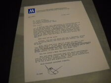 Lionel Richie from the desk of Motown 1984 Promo Display Ad mint condition