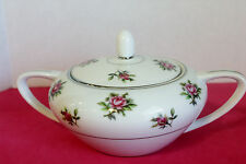 FINE CHINA  JAPAN   #7223  ROSEBUD  SUGAR BOWL with LID    Discontinued