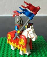 Lego Minifigure Mounted Knight from Castles Vintage and Rare