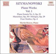 Karol Szymanowski: Piano Works, Vol. 1, New Music