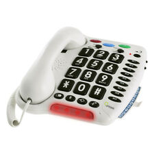 Oricom Care 100 Loud Ringer Amplified Receiver Special Needs Telephone Seniors
