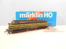 MARKLIN 3066 SPUR H0 1/87 - DIESELLOK 204 008 GRUN/GELB SNCB - EP.III - OVP