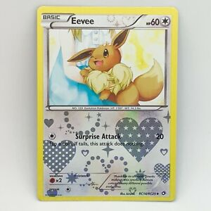 Eevee RC14/RC25 - Holo - Legendary Treasures - Pokemon Card - NM