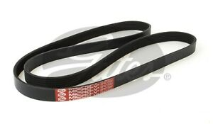 Gates Ribbed Belt 6PK1590 fits MG ZT 180 2.5