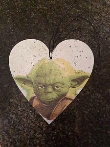 Star Wars, Yoda, wooden heart