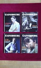 "Lot de 4 livres-CD ""Signé Gainsbourg"" La collection officielle. Collector! Neuf!"