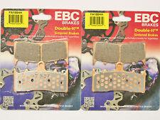 EBC HH Front & Rear Brake Pads 1999-2007 Suzuki GSX1300R Hayabusa FA188HH FA63HH