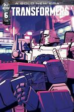 Transformers #6 Main cover STOCK PHOTO IDW 2019