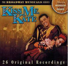 Kiss Me Kate - Broadway Musicals Series - Various Artists (CD)