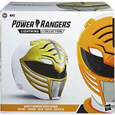 Hasbro Power Rangers Lightning Collection Mighty Morphin White Ranger Helmet 1:1